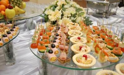 Фуршет на свадьбу дома у невесты с фото
