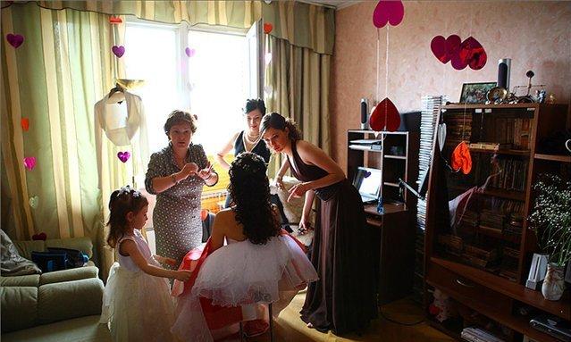Дома  на свадьбу